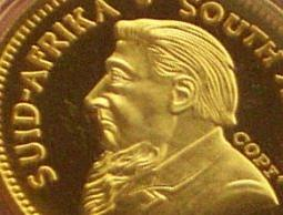 legal replica coins are marked with the word COPY such as this replica of a Krugerrand coin