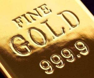 99.99% is the gold purity of almost all gold bullion bars these days
