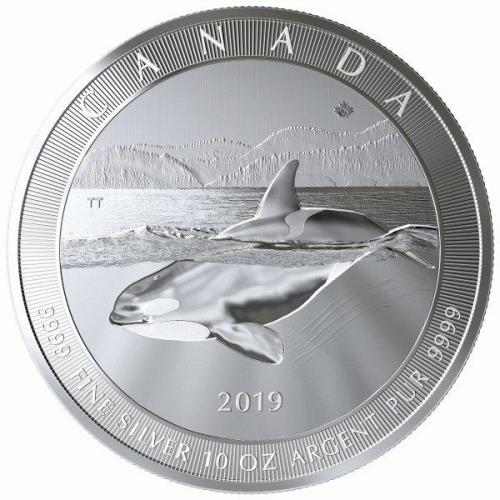 the orca whale design is the same on all 3 versions of this time-limited coin issue