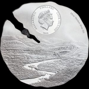 the Estacado Meteorite titanium silver coins contain a fragment of the Estacado meteorite