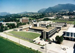 This is the campus of the Valcambi refinery, the biggest of the 3 Swiss Gold Refineries that are located near the Italian border.