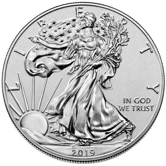 collectible American Silver Eagles were mostly only obtainable as a part of a set except this 2019-S enhanced reverse proof Silver Eagle coin
