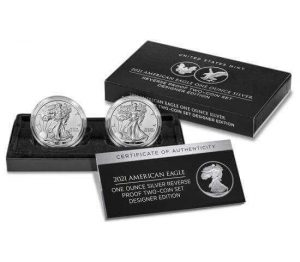 the 2 reverse proof American Silver Eagles in this set cannot be purchased individually